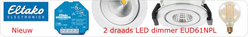 LED dimmer 4 tot 200W Eltako