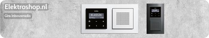 Gira inbouwradio materiaal 2013 radio\'s inbouw muziek digitale ...