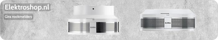 Gira rookmelders dual modulair/VdS 9V of 230V wit