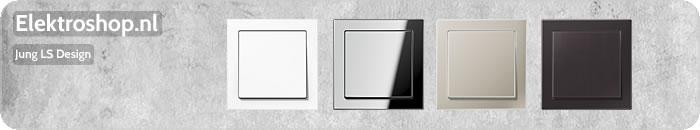 Jung LS Design afdekramen schakelmateriaal
