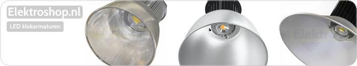 LED klokarmaturen