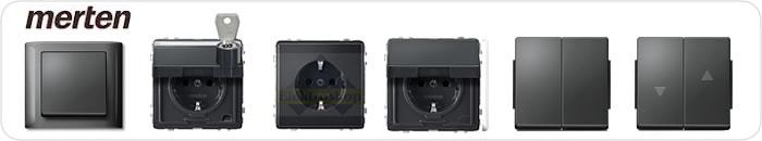 Schakelaar stopcontact voor buiten inbouw  schakelmateriaal