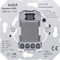 Gira LED dimmer met drukknop