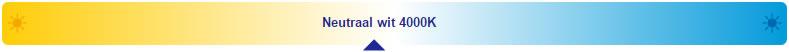 led paneel rond 4000k