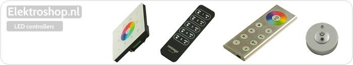 LED controllers RGB kleur Tronix